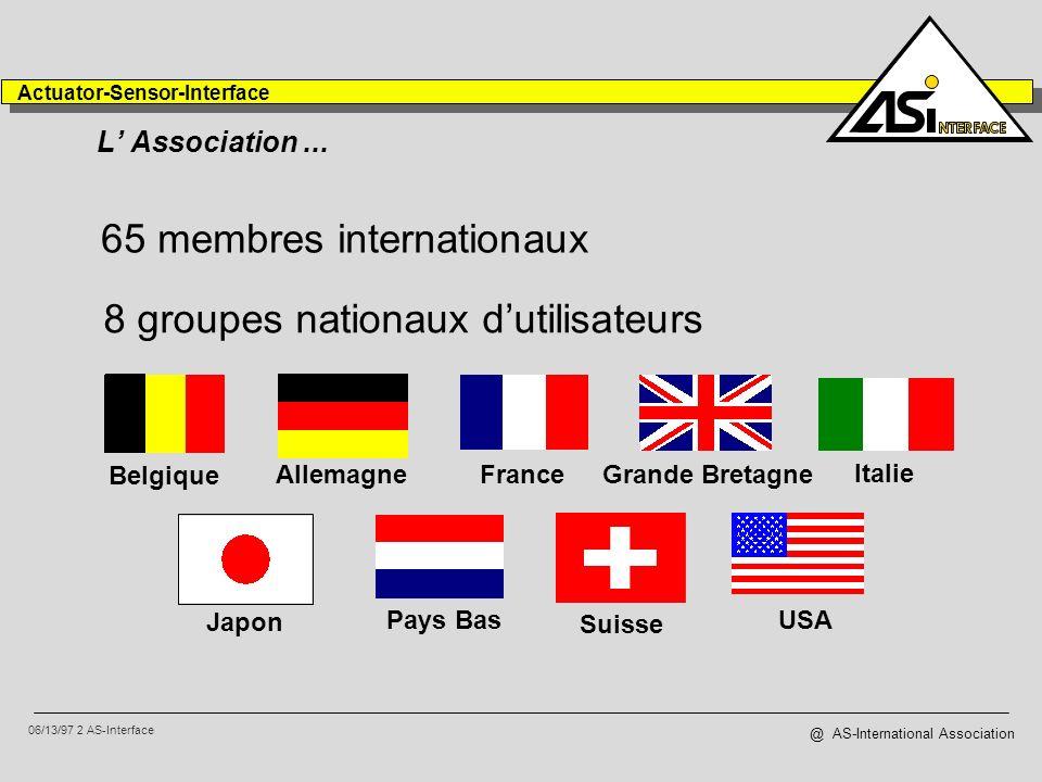 65 membres internationaux