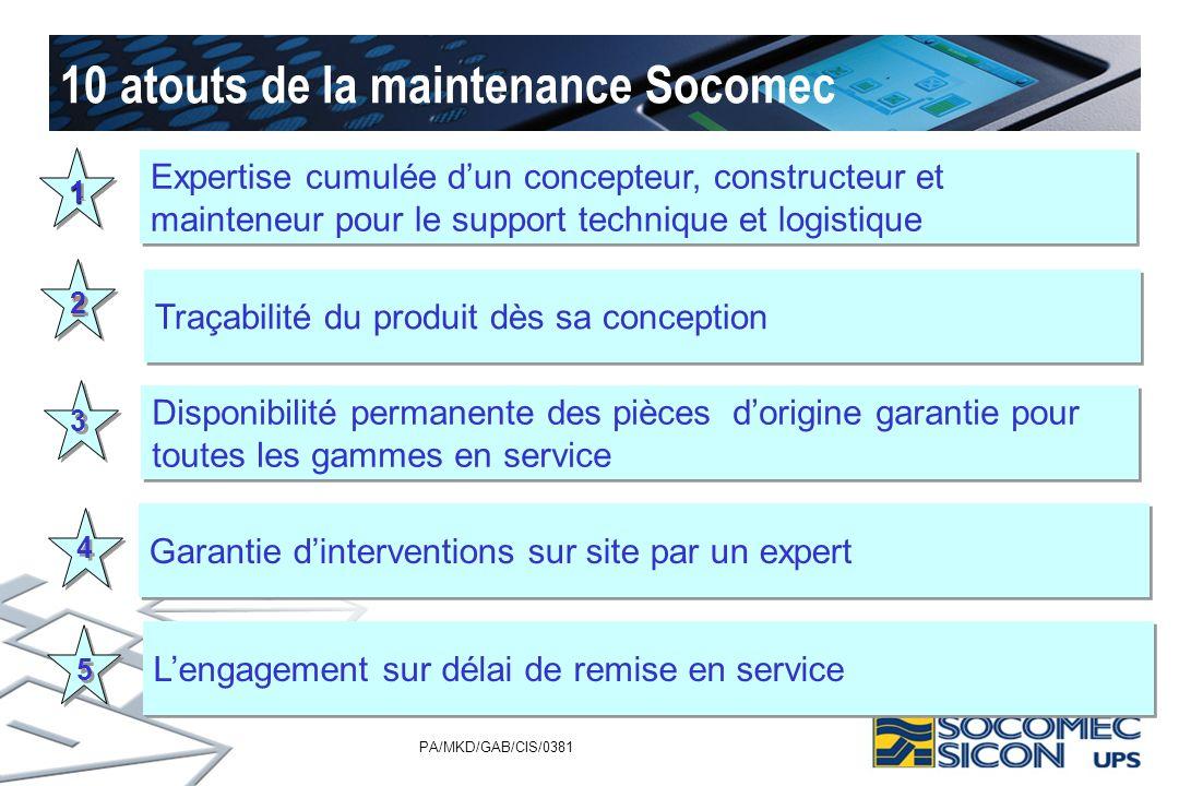 10 atouts de la maintenance Socomec