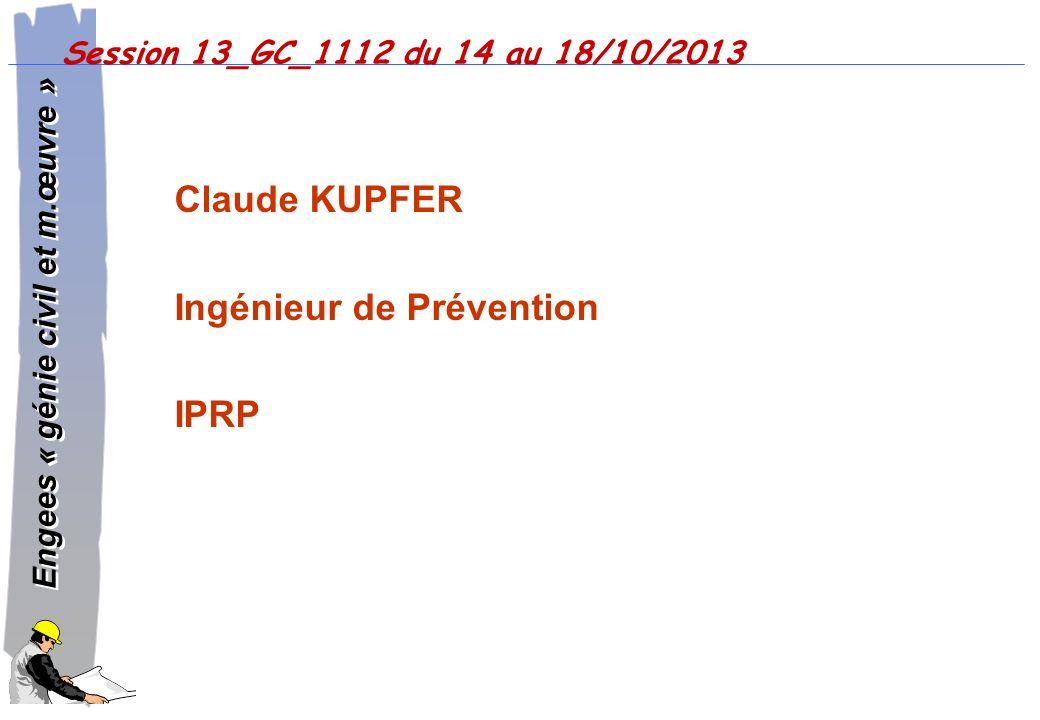 Ingénieur de Prévention IPRP