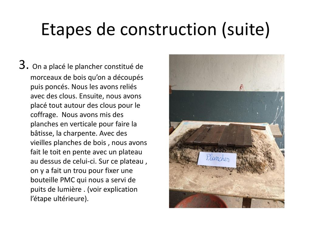 Projet sciences maquette de maison avec conomie d nergie for Construction suite online
