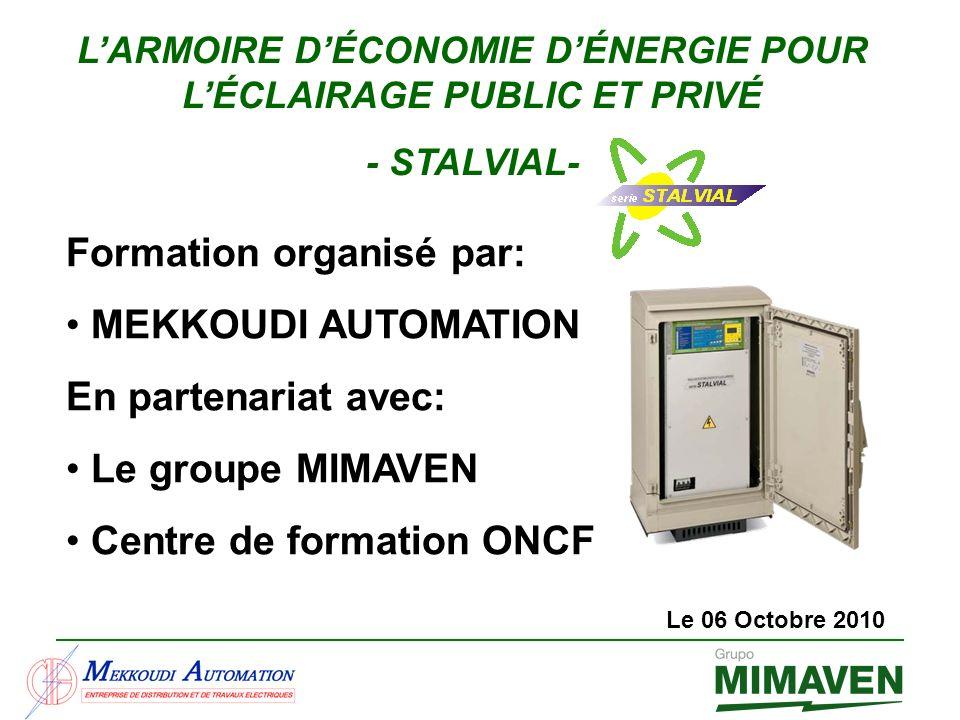 L'ARMOIRE D'ÉCONOMIE D'ÉNERGIE POUR L'ÉCLAIRAGE PUBLIC ET PRIVÉ