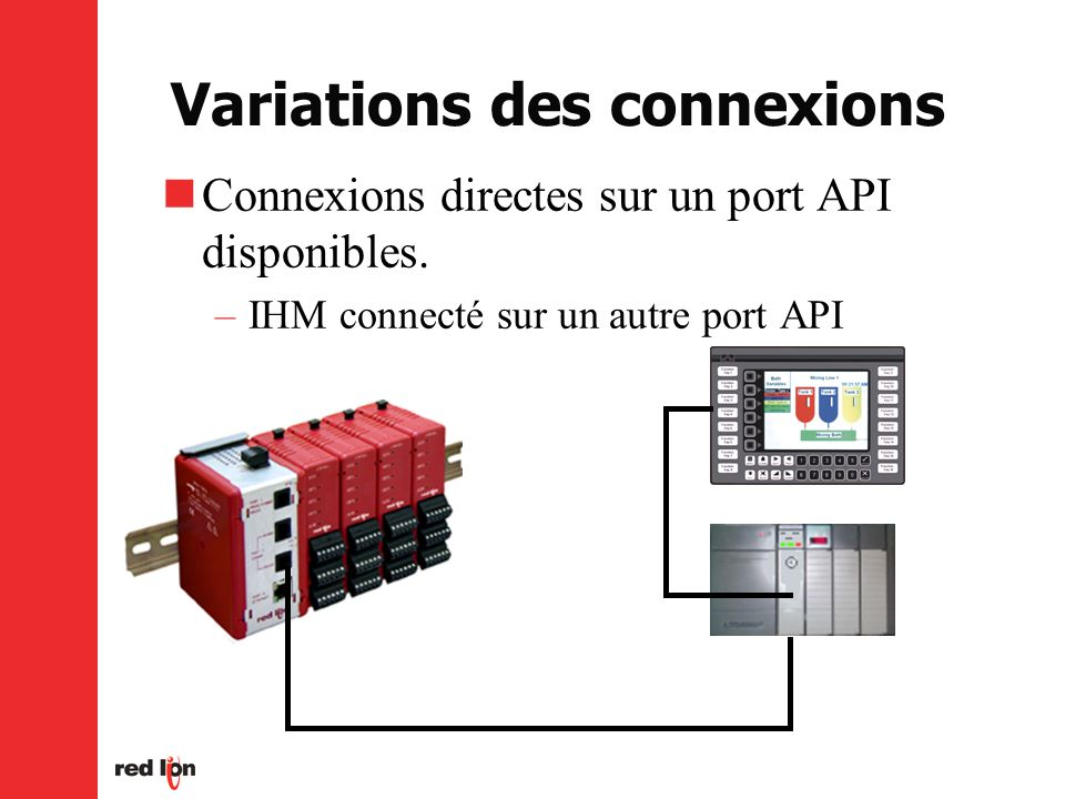 Variations des connexions
