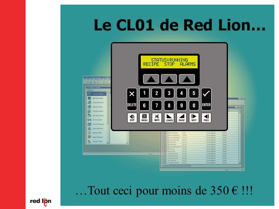 Le CL01 de Red Lion… …Tout ceci pour moins de 350 € !!!