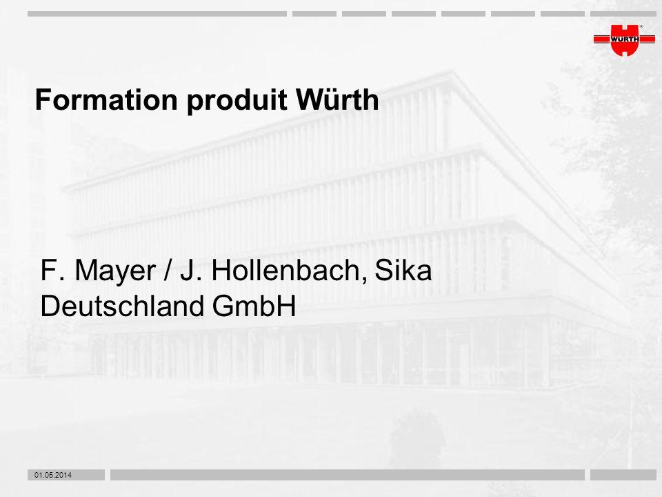 Formation produit Würth