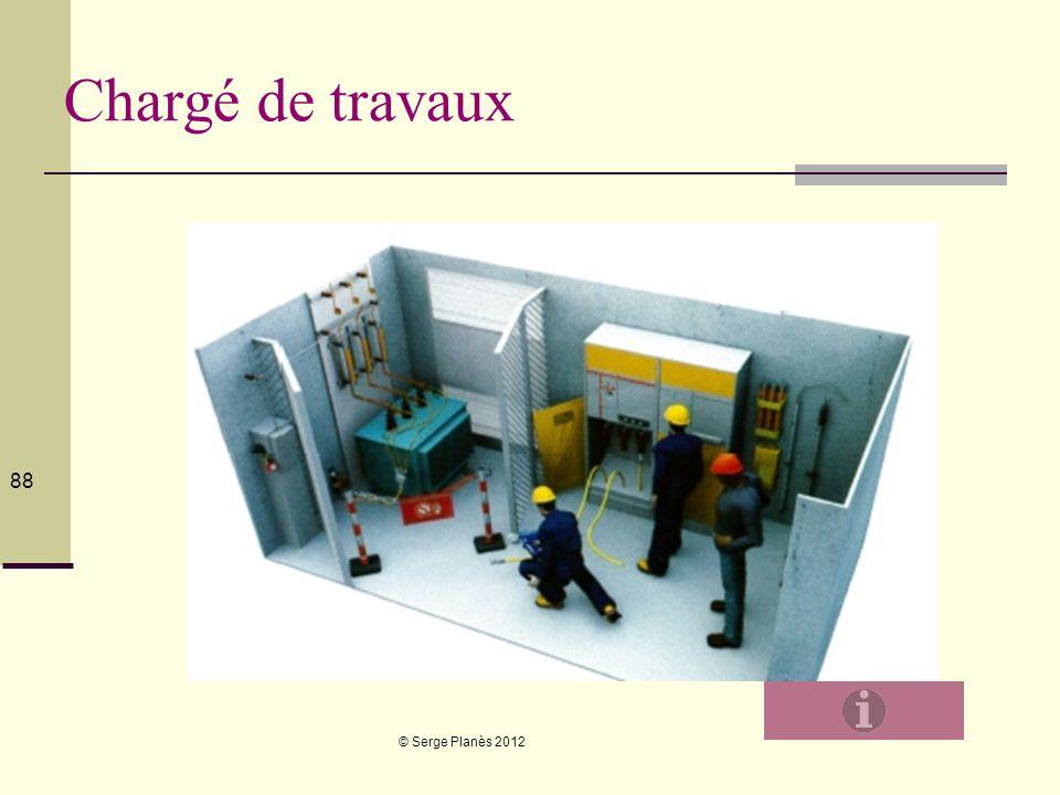 Chargé de travaux © Serge Planès 2012