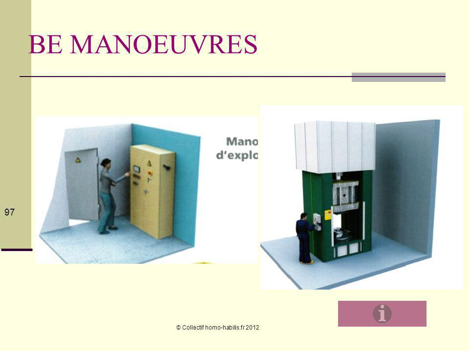 BE MANOEUVRES © Collectif homo-habilis.fr 2012