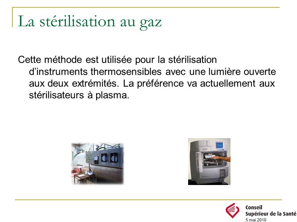 La stérilisation au gaz