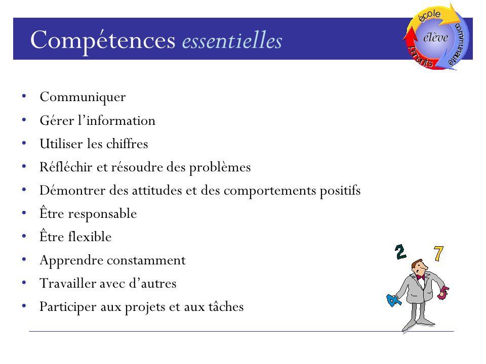 Compétences essentielles