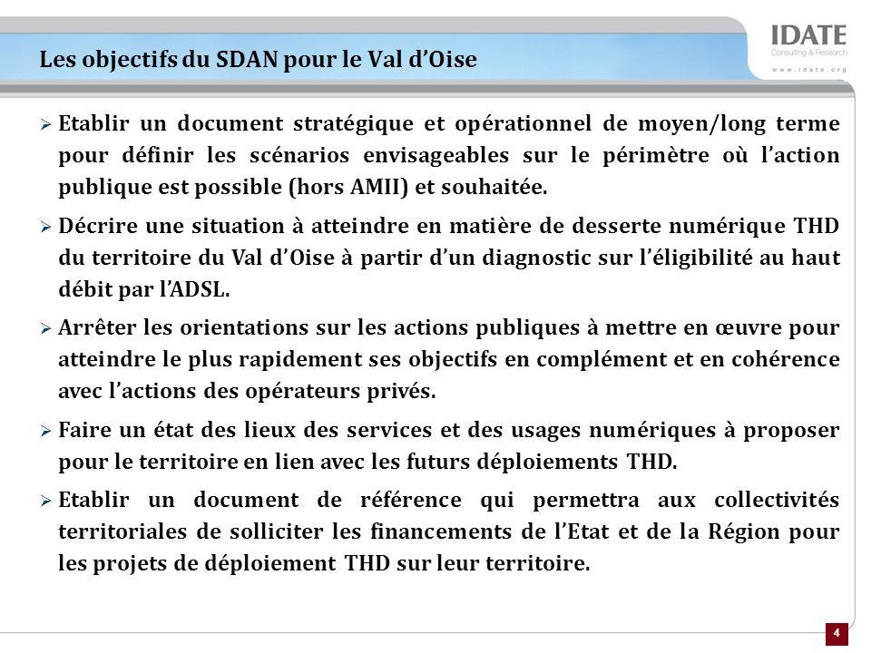 Les objectifs du SDAN pour le Val d'Oise