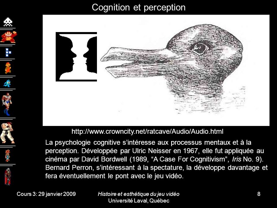 Cognition et perception