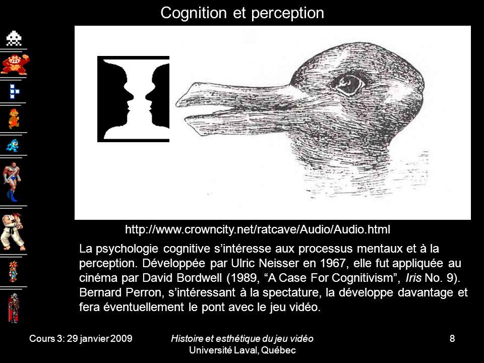 Cognition et perception