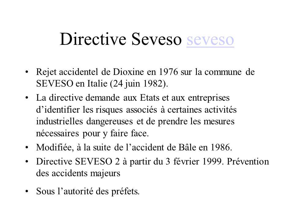Directive Seveso seveso