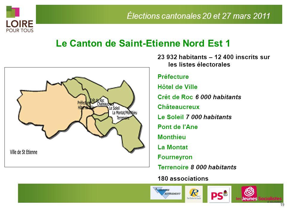 Le Canton de Saint-Etienne Nord Est 1