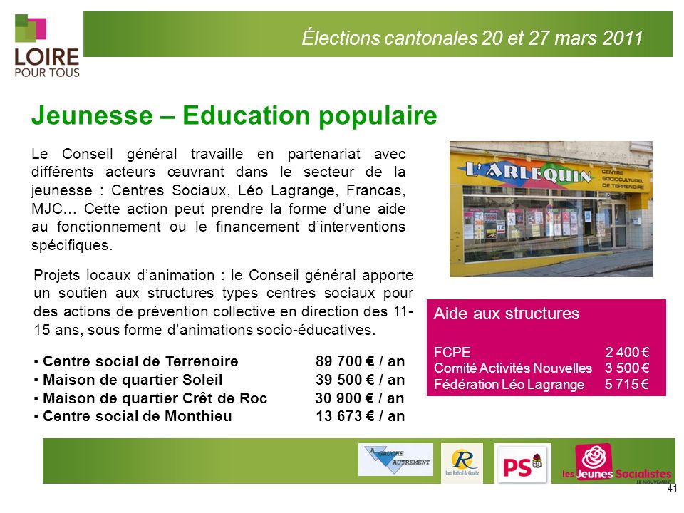 Jeunesse – Education populaire