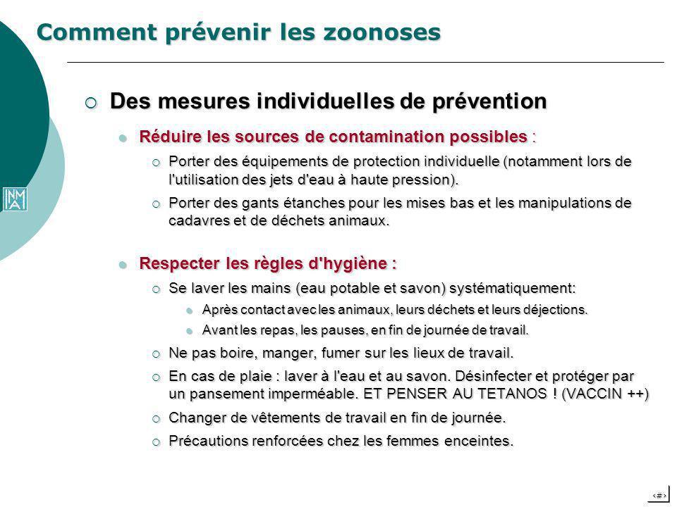 Comment prévenir les zoonoses