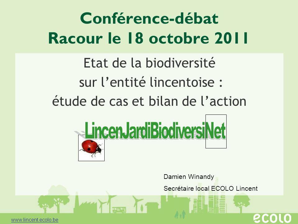 Conférence-débat Racour le 18 octobre 2011