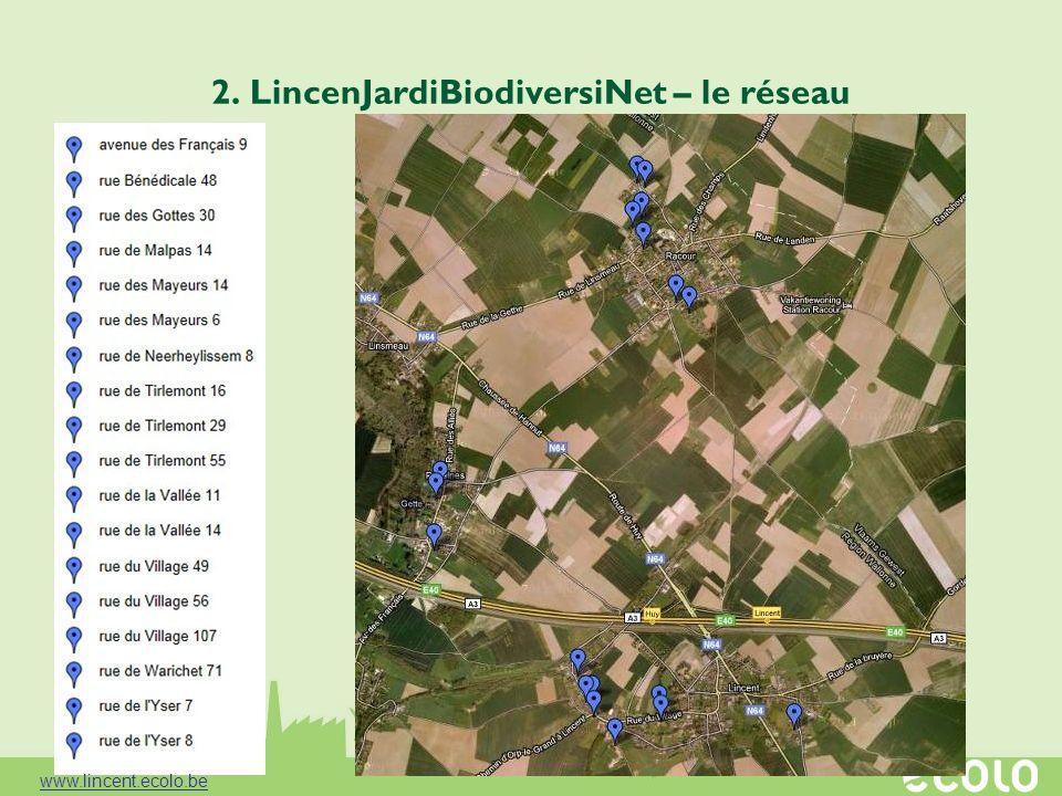 2. LincenJardiBiodiversiNet – le réseau