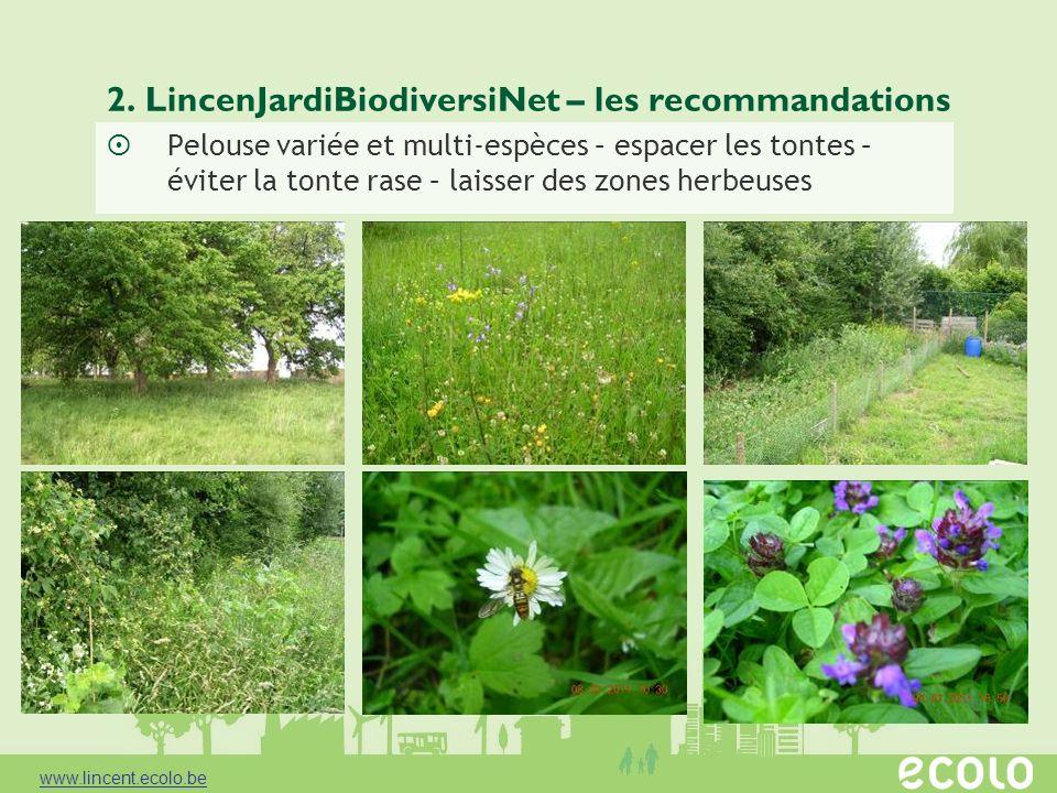 2. LincenJardiBiodiversiNet – les recommandations