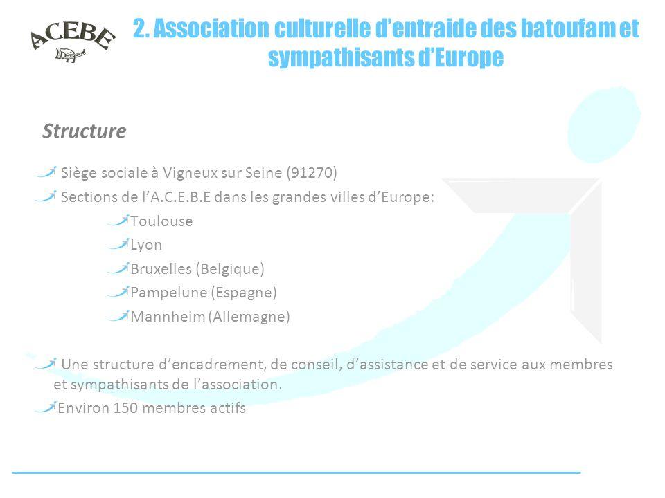 2. Association culturelle d'entraide des batoufam et sympathisants d'Europe