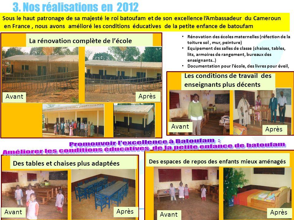 Promouvoir l excellence à Batoufam :