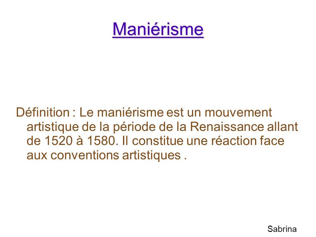 Maniérisme