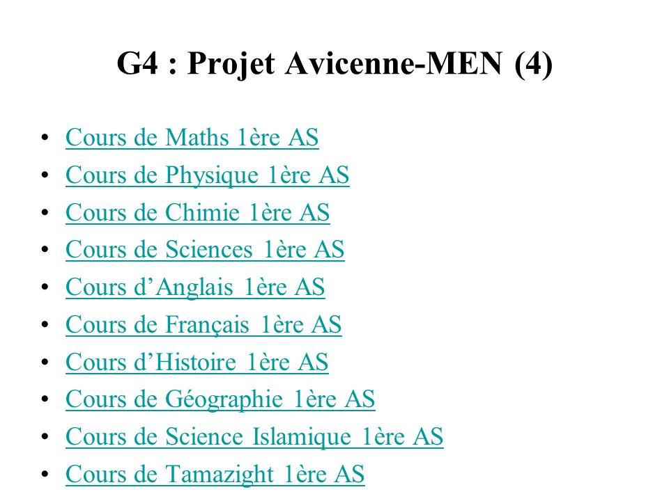 G4 : Projet Avicenne-MEN (4)