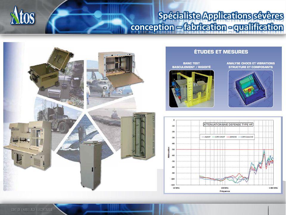 Spécialiste Applications sévères conception – fabrication - qualification