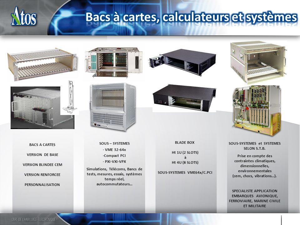 SOUS-SYSTEMES VME64x/C.PCI SOUS-SYSTEMES et SYSTEMES SELON S.T.B.