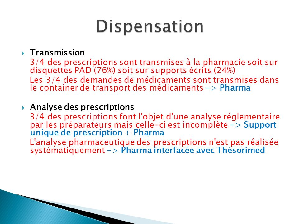 Dispensation Transmission