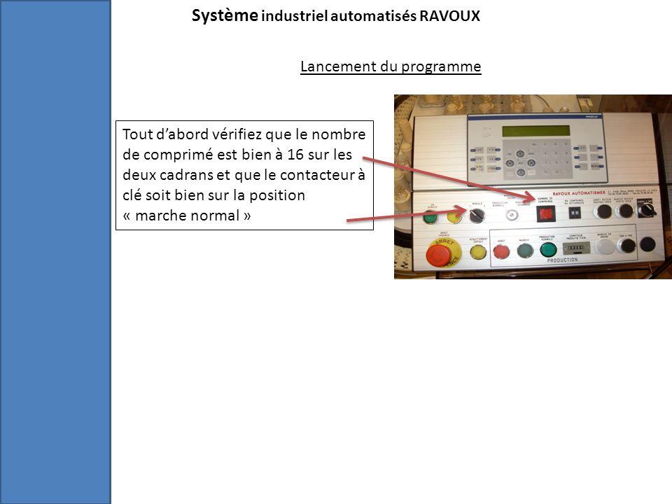 Système industriel automatisés RAVOUX