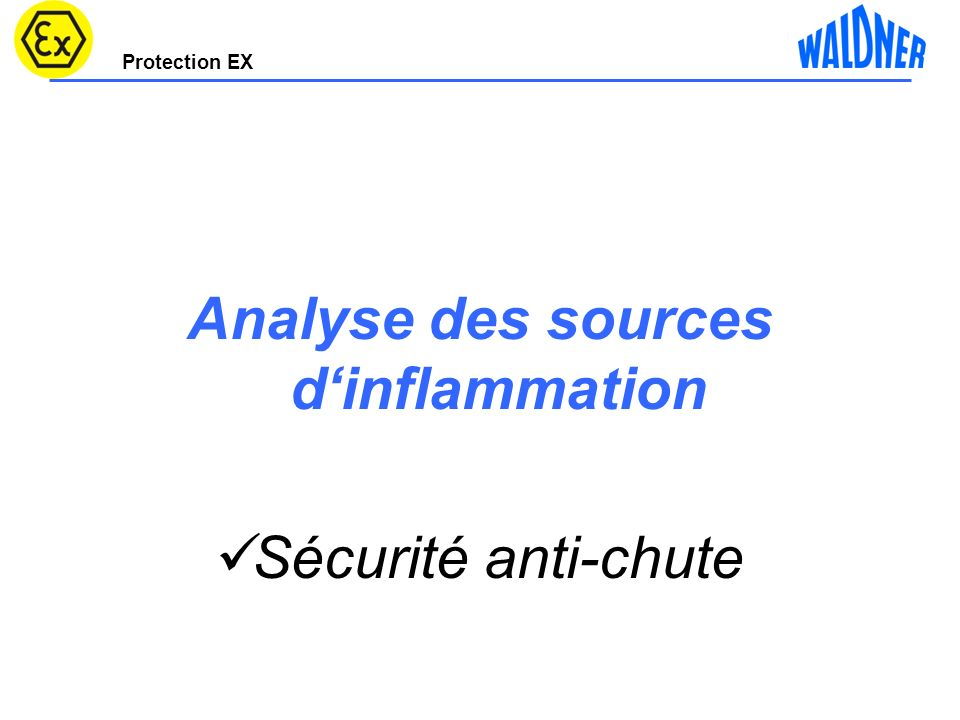 Analyse des sources d'inflammation