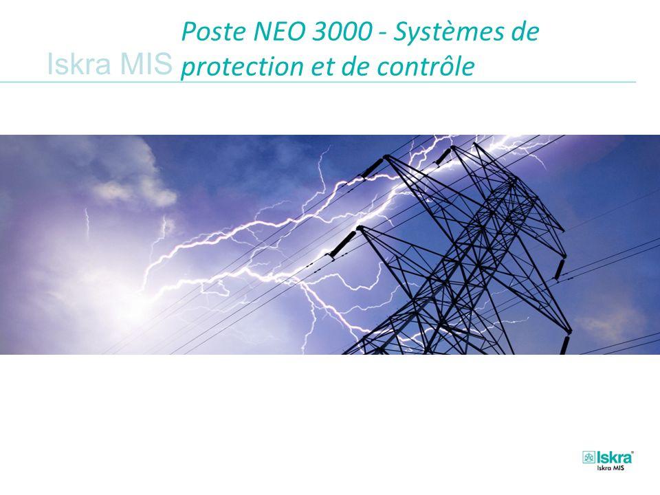 Poste NEO 3000 - Systèmes de protection et de contrôle