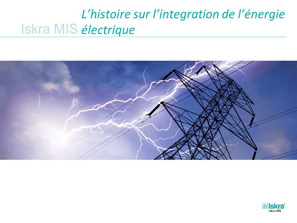 L'histoire sur l'integration de l'énergie électrique
