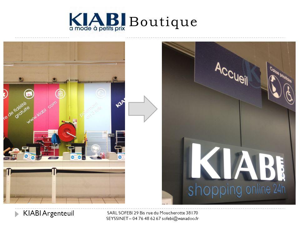 Boutique KIABI Argenteuil KIABI Argenteuil