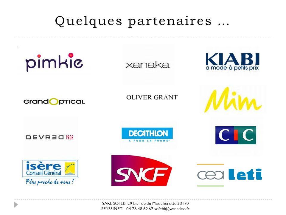 Quelques partenaires …