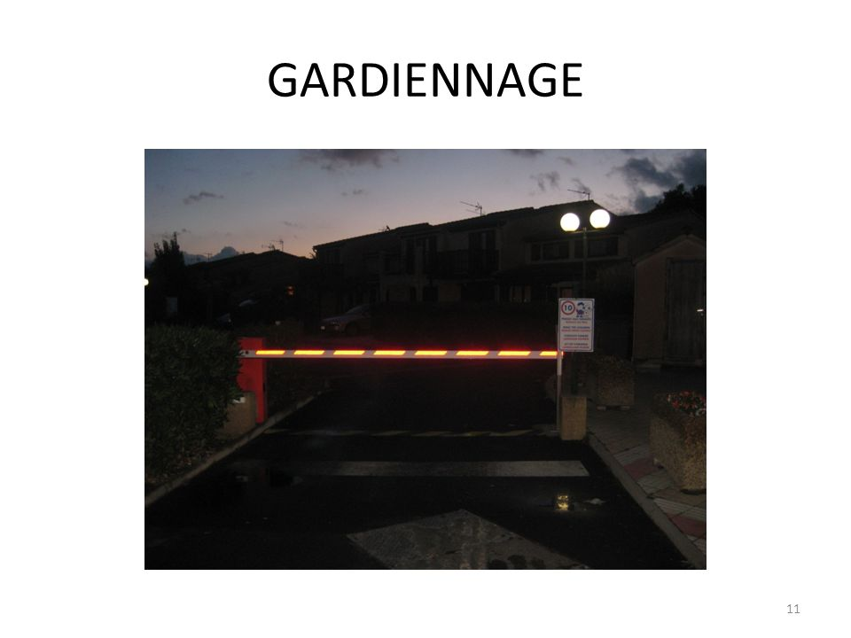 GARDIENNAGE