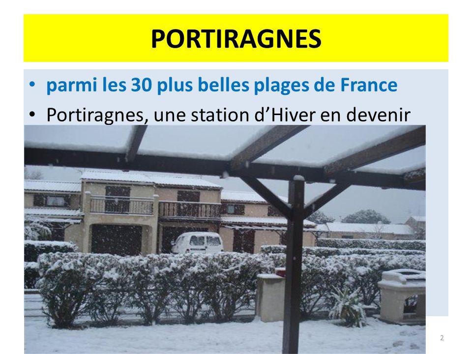 PORTIRAGNES parmi les 30 plus belles plages de France