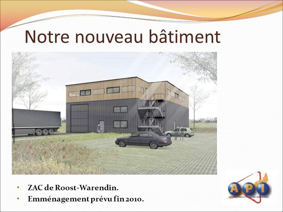 Notre nouveau bâtiment
