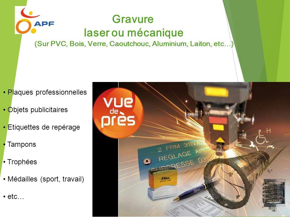 (Sur PVC, Bois, Verre, Caoutchouc, Aluminium, Laiton, etc…)