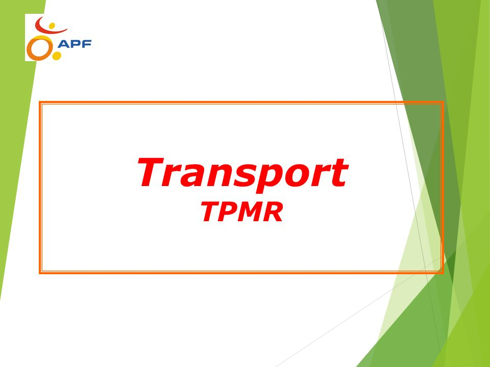 Transport TPMR