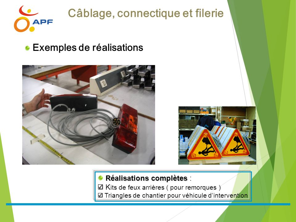 Câblage, connectique et filerie