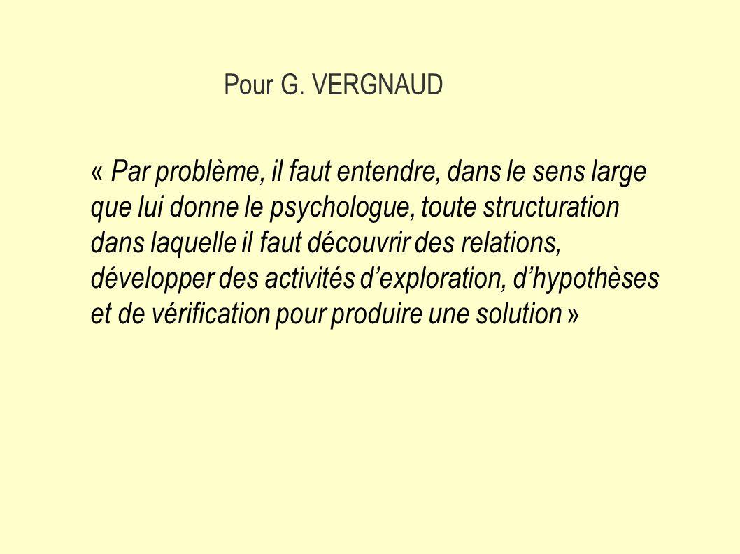 Pour G. VERGNAUD