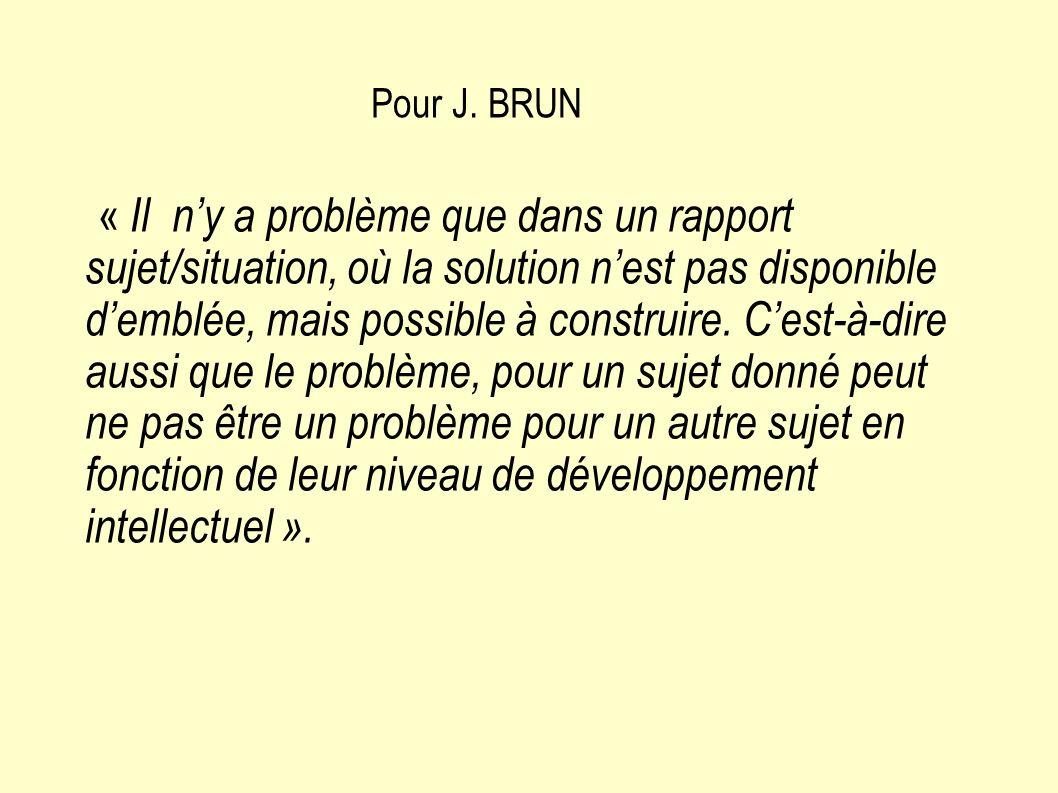 Pour J. BRUN