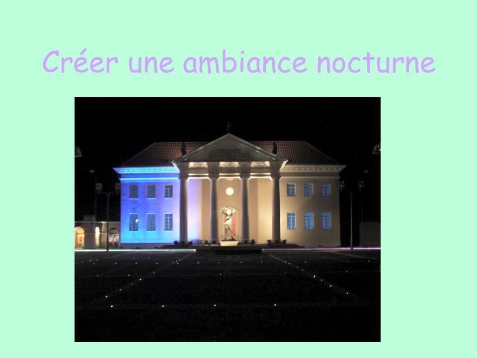Créer une ambiance nocturne