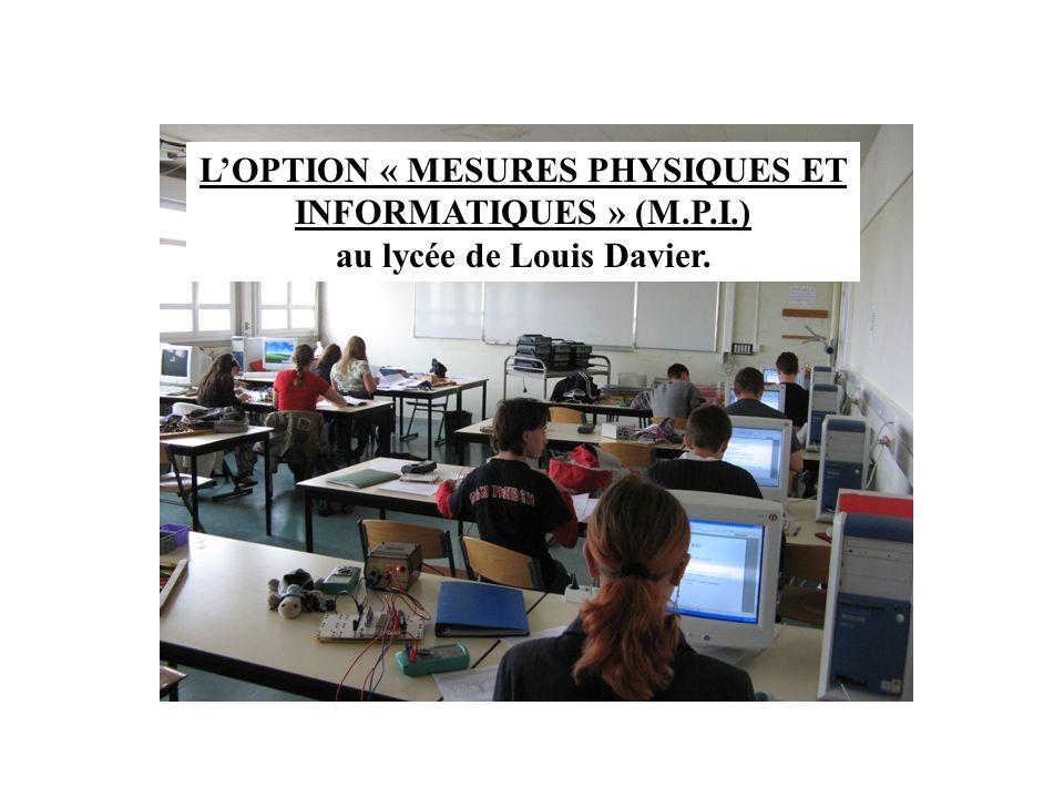au lycée de Louis Davier.