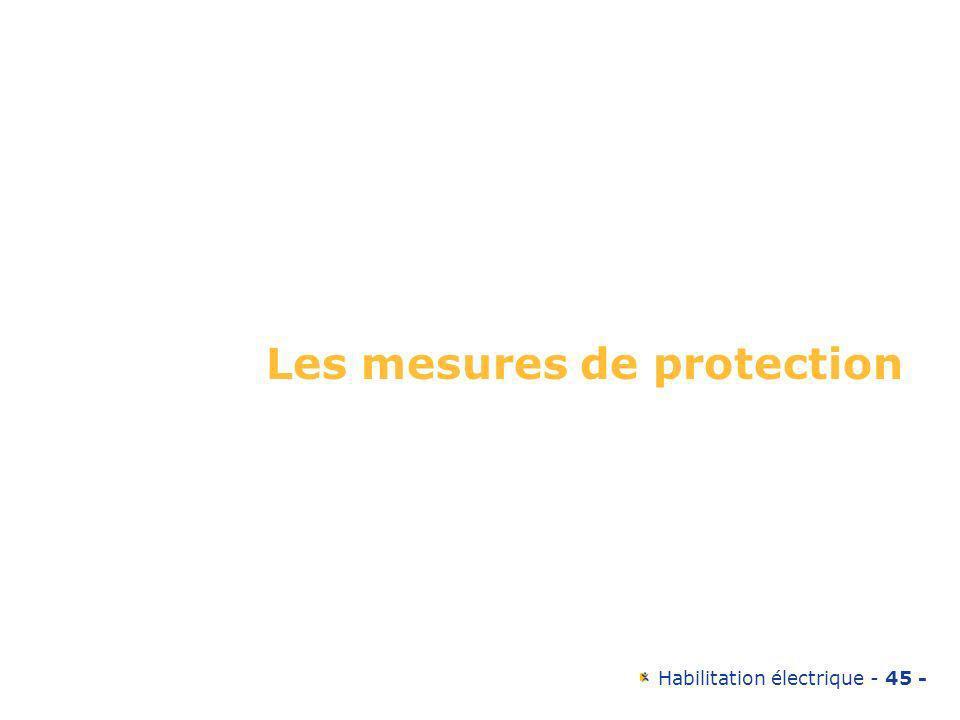 Les mesures de protection