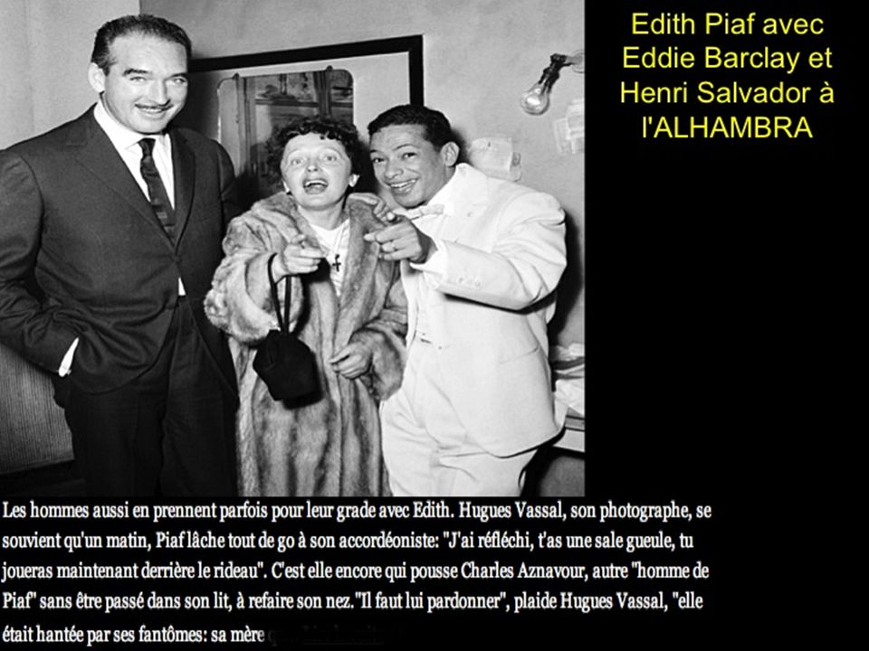 Edith Piaf avec 2