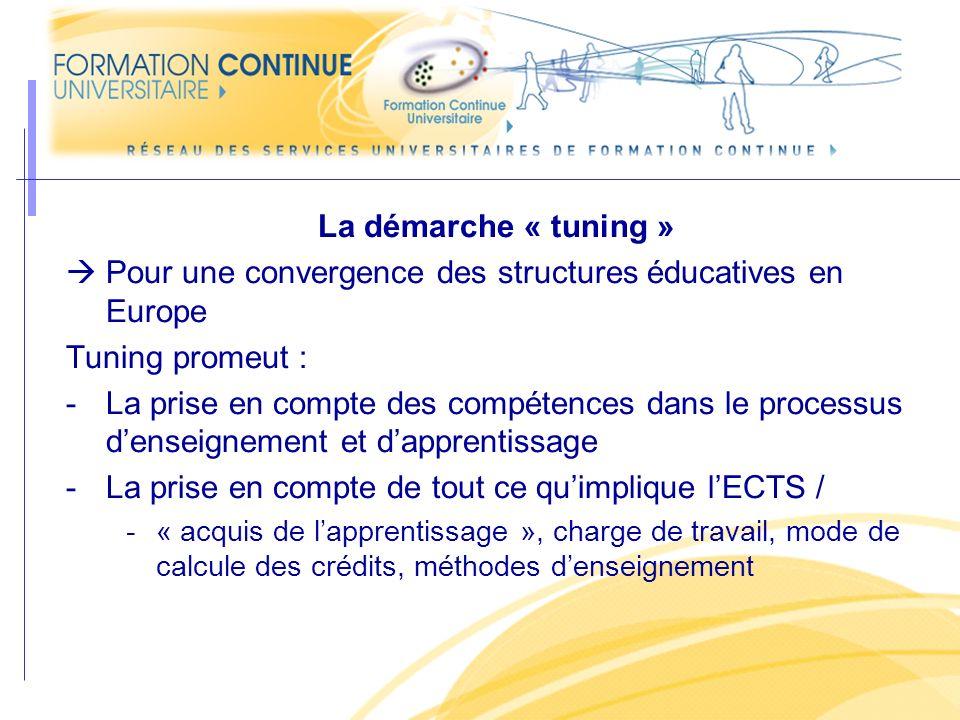 Pour une convergence des structures éducatives en Europe