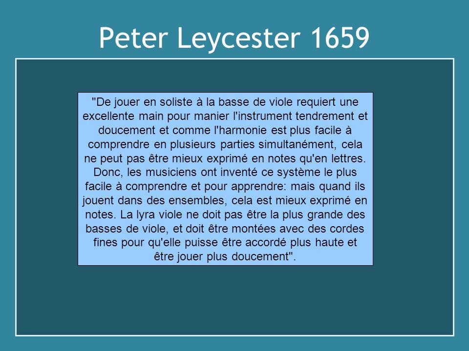 Peter Leycester 1659