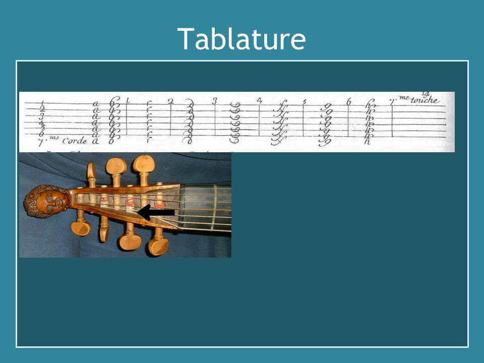 Tablature Explication Demachy